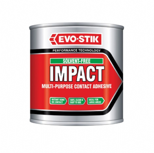 Evo-Stik Solvent Free Impact Multi-Purpose Contact Adhesive 250ml